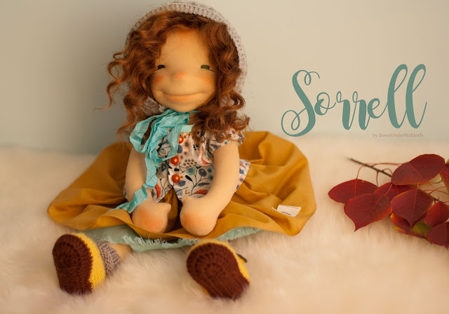 Natural Fiber Art doll by Down Under Waldorfs, Natural Fibre Art Doll, Waldorf Inspired dolls, Australian handmade