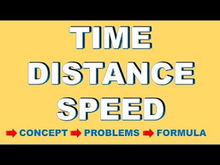 TIME SPEED AND DISTANCE FULL EXPLANATION NOTE WITH SOLVED EXAMPLE