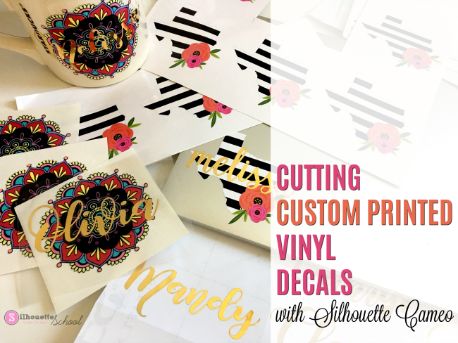 Custom Printed Vinyl Decals Silhouette Pixscan Tutorial Hack - Custom vinyl decal