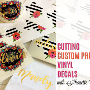 Printing And Designing LifeSize Graphics In Silhouette Studio - Custom vinyl decals bulk   removal options