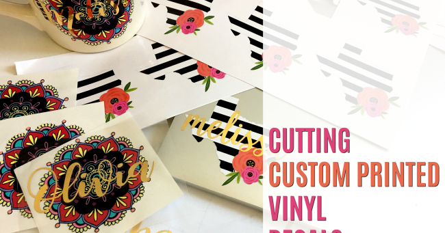 Custom Printed Vinyl Decals Silhouette Pixscan Tutorial Hack - Custom vinyl decals bulk