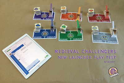 Medieval Challengers ready for more game testing with new launcher by Kurt Keller at ITD Games