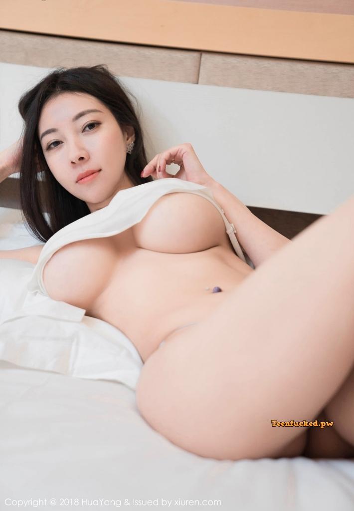 HuaYang 2018 10 23 Vol.090 Victoria Guo Er MrCong.com 005 wm - HuaYang Vol.090: Người mẫu Victoria (果儿) (43 ảnh)