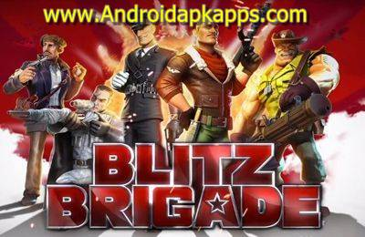 Download Blitz Brigade Online FPS fun Apk MOD v2.0.1b Full OBB Data