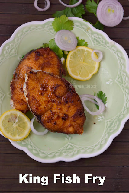 Hotel Style Fish Fry / Hotel Vanjara Meen Varuval