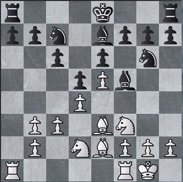 posisi perwira dan strategi dasar Caro-Kann varian dorong ( advance ) - stretegi bagi hitam bagian 2