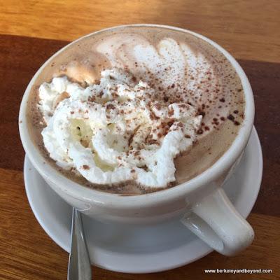 dirty hot chocolate at Homemade Cafe in Berkeley, California