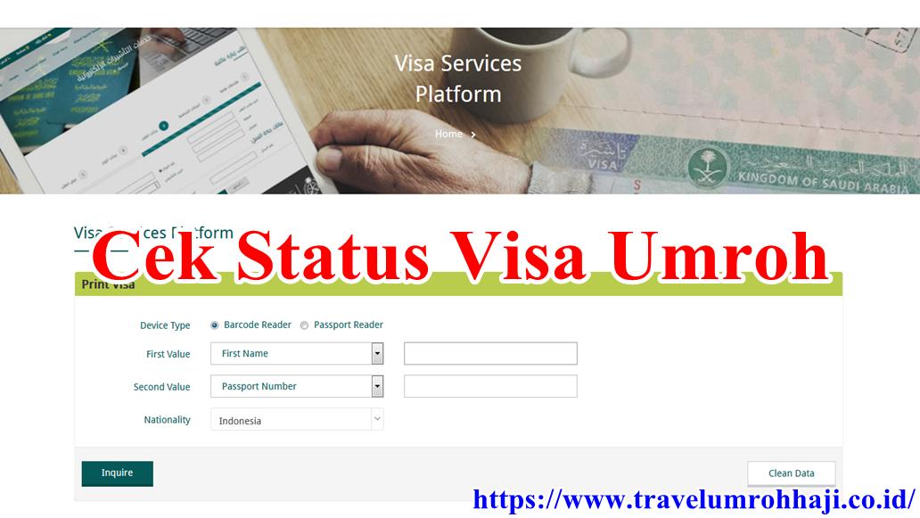 Jamaah umroh sudah bisa mengecek langsung visa umroh sendiri secara online