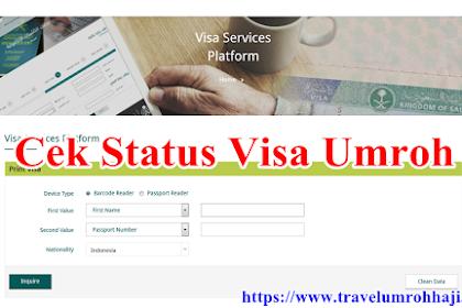 Cara Cek Online Status Visa Umroh