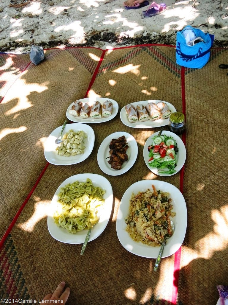 Island Gem gourmet picnic, a different experience
