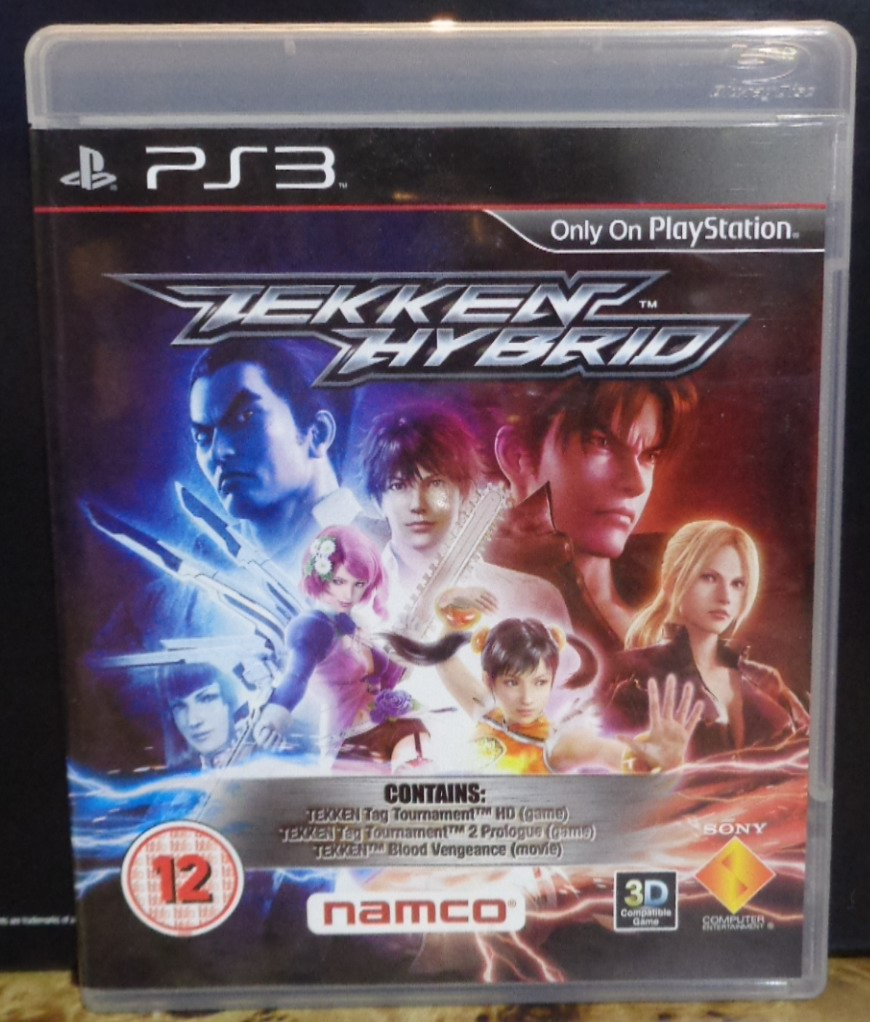 Movies On Dvd And Blu Ray Tekken Blood Vengeance 2011