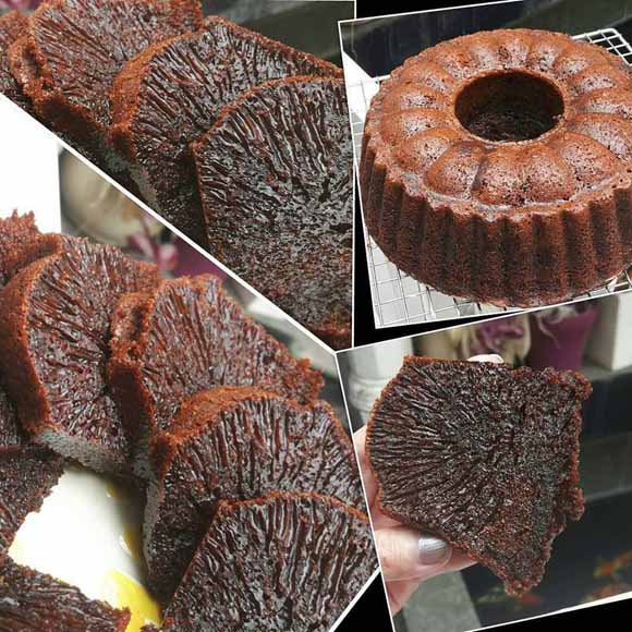 Resep Caramel Cake Atau Kue Sarang Semut Yang Enak, Kenyal, dan Legit by Ayuaudrey91