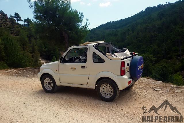 Suzuki Jimny masina inchiriata din Potos Thassos