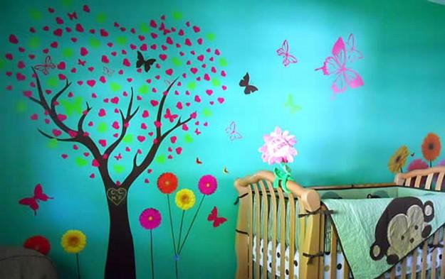 Stelle filanti di antonietta for Decorare muro stanza
