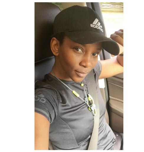 No makeup selfie: Genevieve Nnaji can be mistaken for a 16-year-old