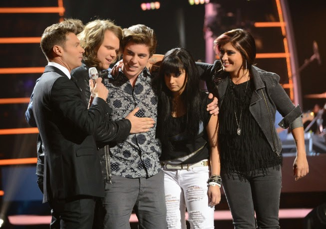 'American Idol': Top 4 perform 'Break Up to Make Up' songs (Recap)