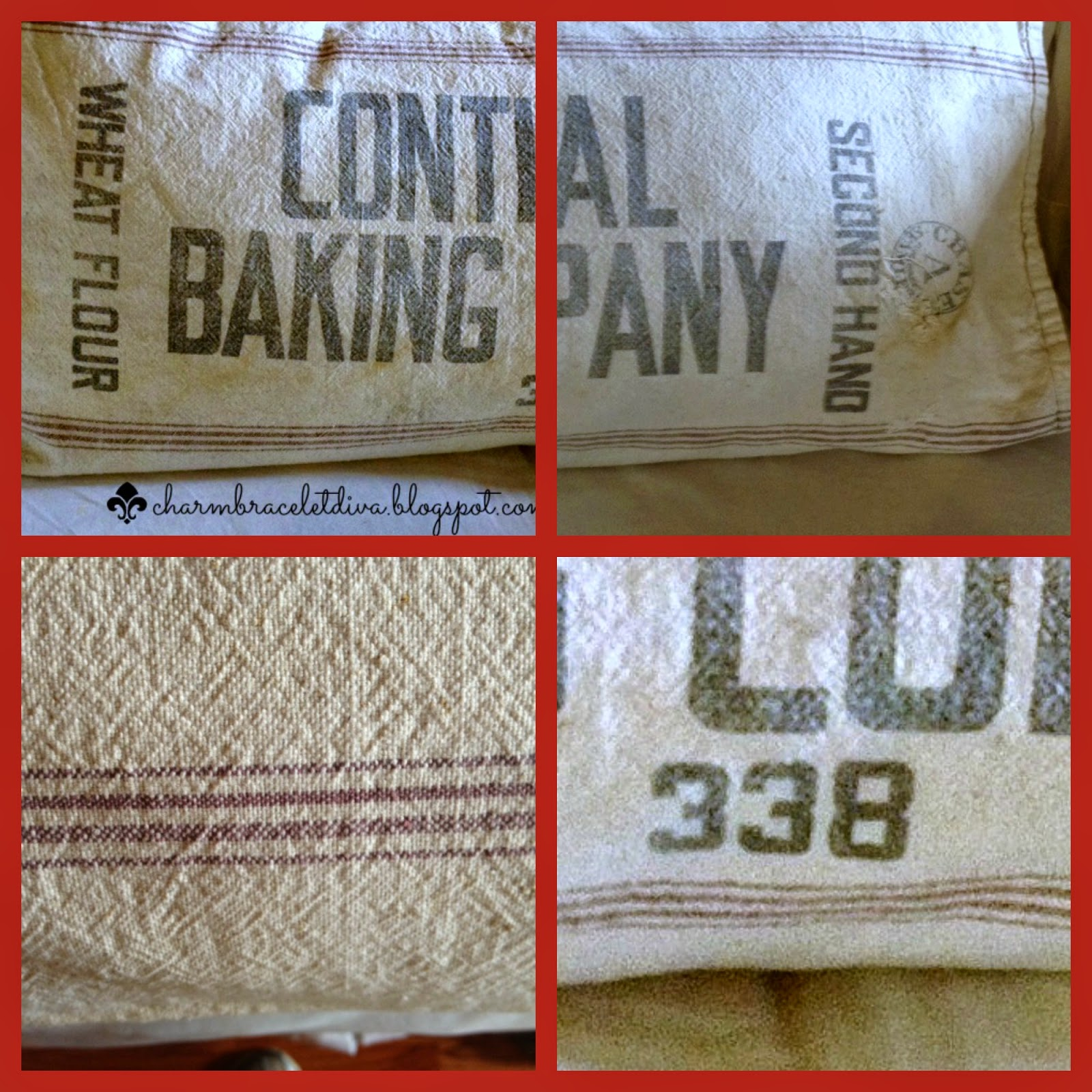 Continrntal Baking Company Wheat Flour Sack