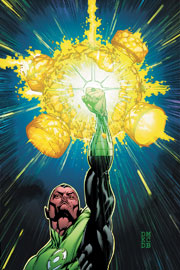 Green Lantern #1-4 By Geoff Johns, Doug Mahnke, Christian Alamy and Keith Champagne, Alex Sinclair, Sal Cipriano, Francis Manapul