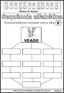 Sequência alfabética letra V