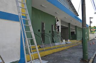 Ginásio Pedrão em Teresópolis passa por reforma e revitalização