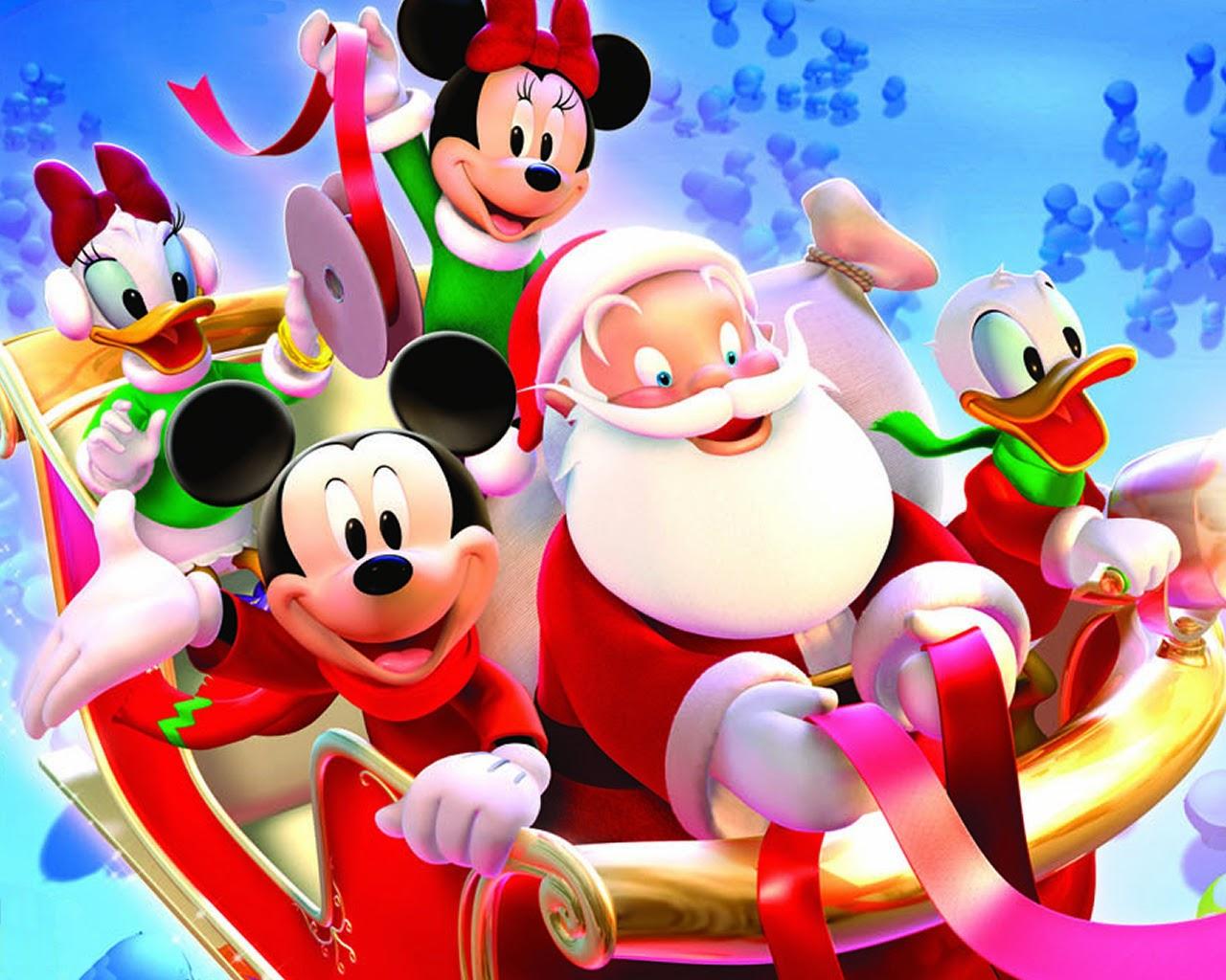 Mickey Mouse Christmas Wallpaper