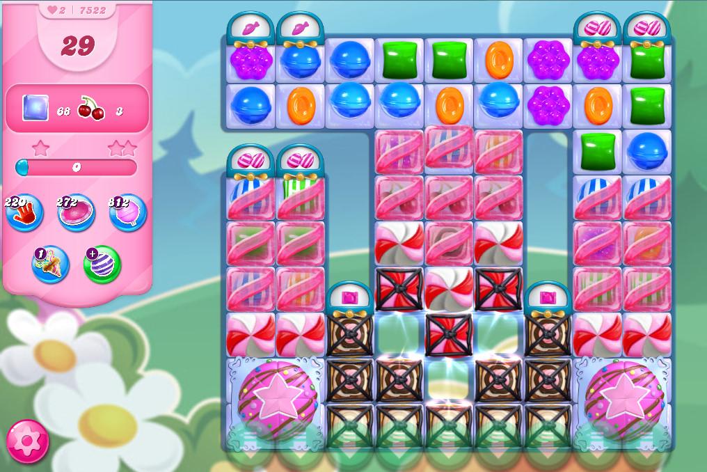 Candy Crush Saga level 7522