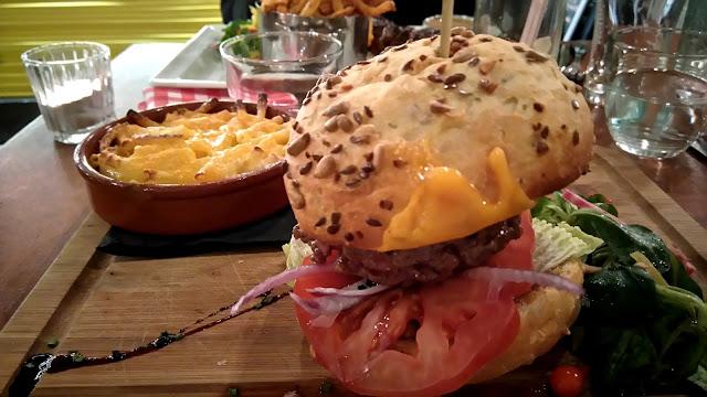 burger, cheeseburger, macaronis, papy mougeot, restaurant, nantes, bullelodie