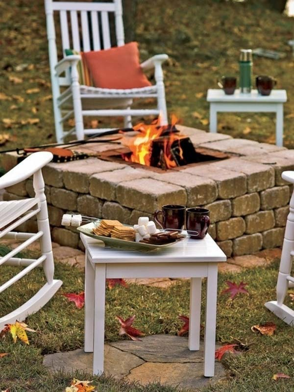 Diy Pallet Outdoor Furniture Fire Pits