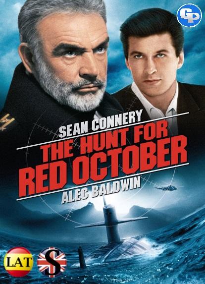La Caza del Octubre Rojo (1990) HD 720P LATINO/INGLES