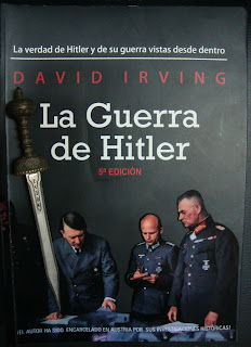 Portada del libro La guerra de Hitler, de David Irving