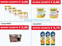Logo Parmalat buoni sconto da stampare Chef Panna ai Gusti, KYR, Santal,Chef Ripieno e...