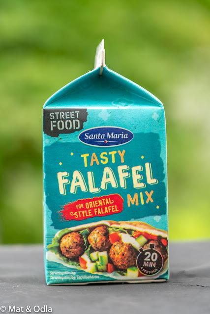 Tasty falafel mix