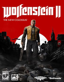 Wolfenstein 2 - The New Colossus Jogos Torrent Download capa