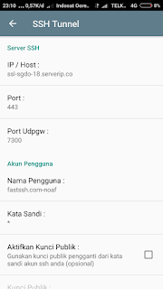 Mengisi ssh kpn tunnel rev