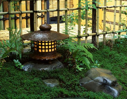 Traditional Japanese Stone Lantern