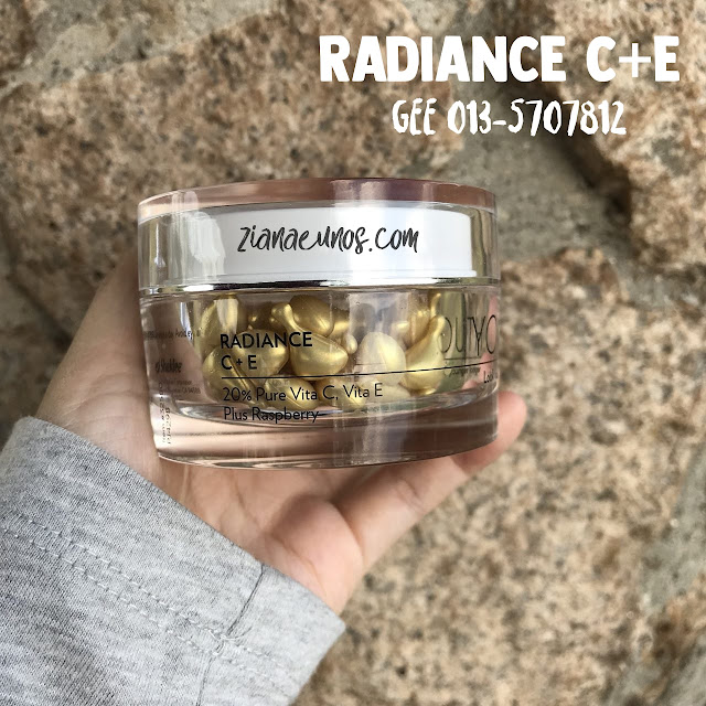 youth shaklee radiance C+E