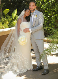 Photos from Tatyana Ali's wedding to Dr. Vaughn Rasberry