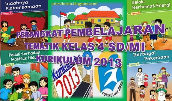 Rpp Tematik Kelas 4 Sd Mi Kurikulum 2013 Revisi 2016 Download File Pendidikan