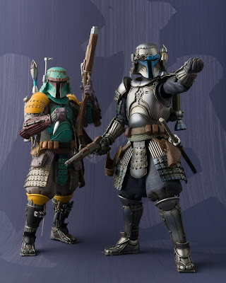 Star Wars Ronin Jango Fett Meisho Movie Realization Action Figure by Bluefin Tamashii Nations