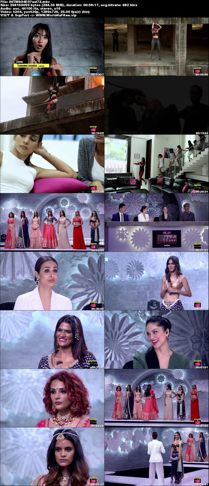 India's Next Top Model S04 Episode 07 720p WEBRip 200Mb world4ufree.fun tv show India's Next Top Model S04 2018 hindi MTV tv show compressed small size free download or watch online at world4ufree.fun