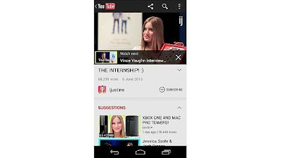 YouTube for Android and iOS goes in for a nice little suggestion overlays