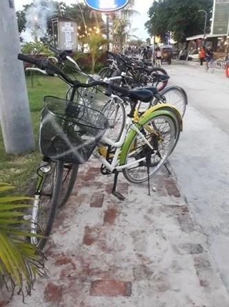 Sewa Sepeda di Gili Trawangan