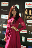 Monal Gajjar in Maroon Gown Stunning Cute Beauty at IIFA Utsavam Awards 2017 059.JPG
