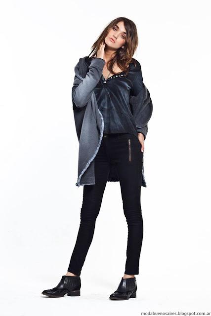 Moda otoño invierno 2016 ropa de mujer casual urbana colección Vesna otoño invierno 2016.