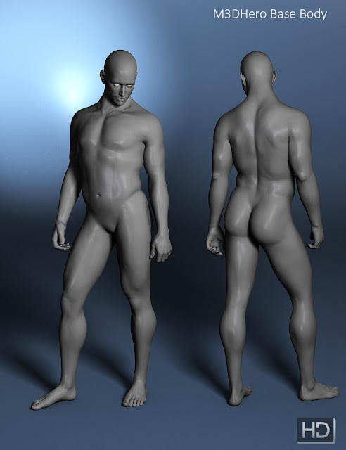 M3D Hero 7 HD Shapes for Michael 7
