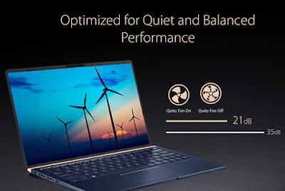 daya tahan laptop ASUS ZenBook 13, 14, dan 15 inch