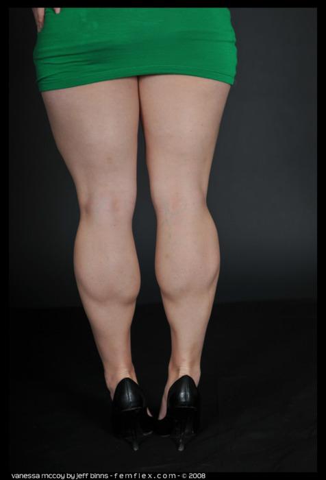 Muscular Calves Women 3