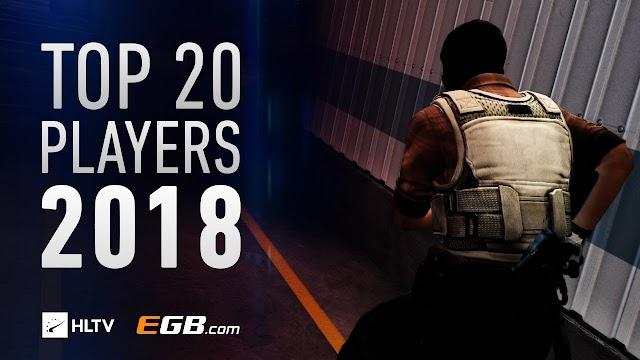 ムービー :「HLTV.org's Top 20 players of 2018」