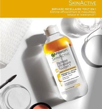 Biphase Micellaire Tout en 1 - SkinActive - Garnier
