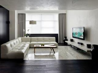 decoración sala minimalista